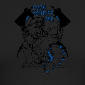 Even Chiefs Die - Men's Long Sleeve T-Shirt by Next Level