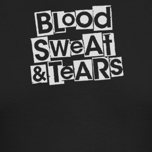 Blood sweat and tears - Men's Long Sleeve T-Shirt by Next Level