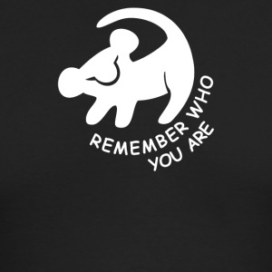 Lion King Remember Who You Are - Men's Long Sleeve T-Shirt by Next Level