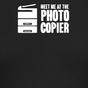 Meet me at the photo copier - Men's Long Sleeve T-Shirt by Next Level