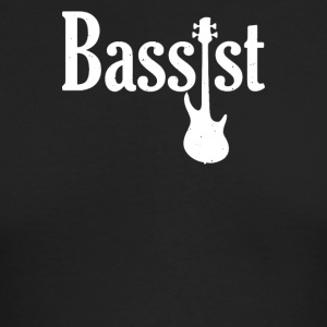 Bassist Guitar - Men's Long Sleeve T-Shirt by Next Level