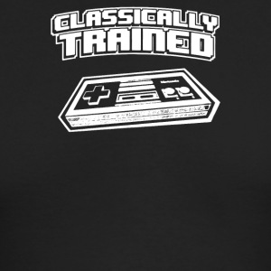 Classically Trained Video Game Console - Men's Long Sleeve T-Shirt by Next Level
