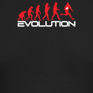 Evolution of Rugby Funny - Men's Long Sleeve T-Shirt by Next Level