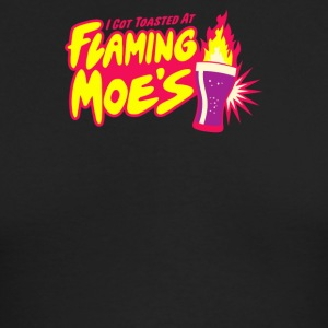 Flaming Moe s - Men's Long Sleeve T-Shirt by Next Level