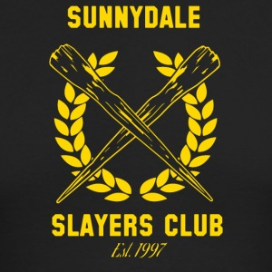 Sunnydale Slayers Club - Men's Long Sleeve T-Shirt by Next Level