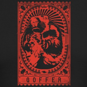 goffer_red - Men's Long Sleeve T-Shirt by Next Level