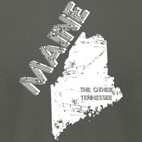 Maine--The Other Tennessee - Unisex Jersey T-Shirt by Bella + Canvas