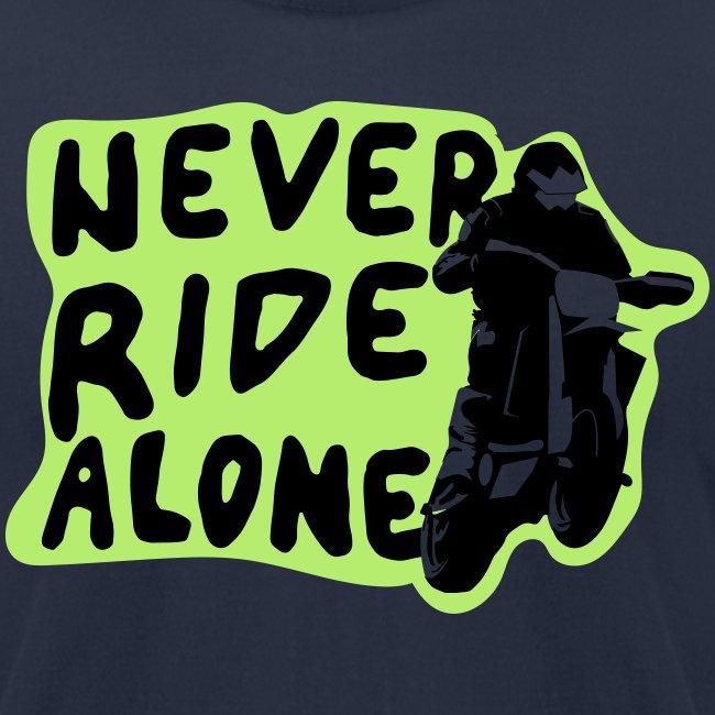 Never Ride Alone White