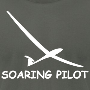 soaring pilot - Men's T-Shirt by American Apparel
