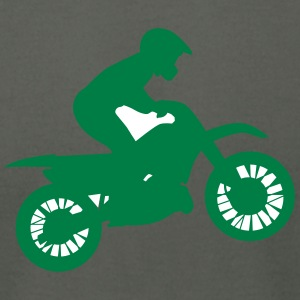 Moto sport silhouette - Men's T-Shirt by American Apparel