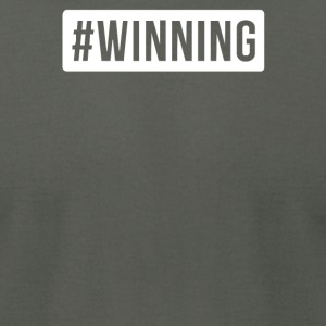 WINNING PRINTED - Men's T-Shirt by American Apparel