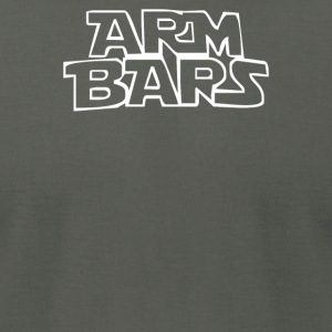 ARM BARS by Cageside Fight Co Funny Brazilian Ji - Men's T-Shirt by American Apparel