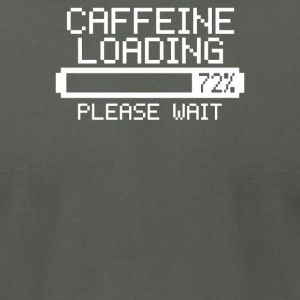 Caffeine Loading - Men's T-Shirt by American Apparel