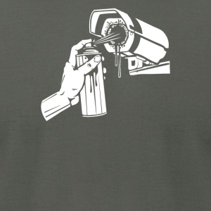 Spray Cam - Men's T-Shirt by American Apparel