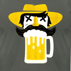 BEERMAN - Men's T-Shirt by American Apparel