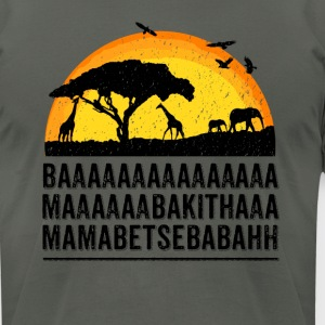 Funny African Film Elephant Birds Lion King Shirt - Men's T-Shirt by American Apparel
