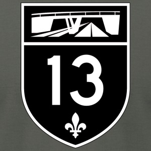Highway 13 - Men's T-Shirt by American Apparel