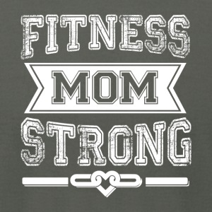Fitness Mom Strong T Shirt - Men's T-Shirt by American Apparel
