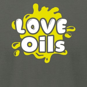 Love Essential Oils Tee Shirt - Men's T-Shirt by American Apparel