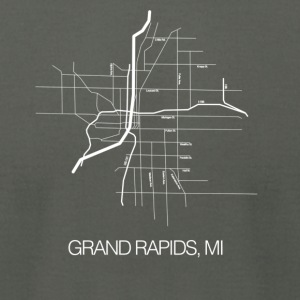 Grand Rapids, MI - Men's T-Shirt by American Apparel
