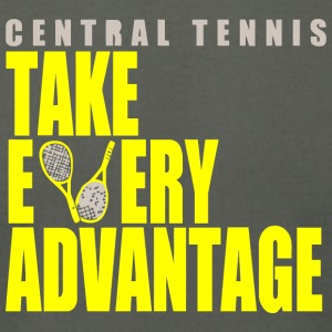 Central Tennis - Men's T-Shirt by American Apparel