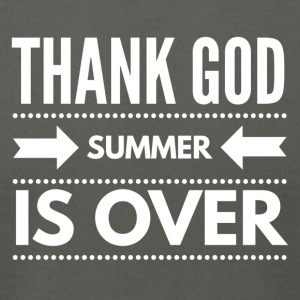 THANK GOD SUMMER IS OVER - Men's T-Shirt by American Apparel