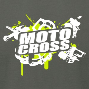Motorcross Cross Vol.I g/w - Men's T-Shirt by American Apparel