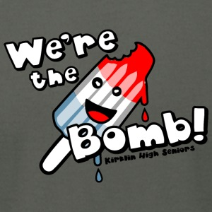 We re the Bomb Kirklin High Seniors - Men's T-Shirt by American Apparel