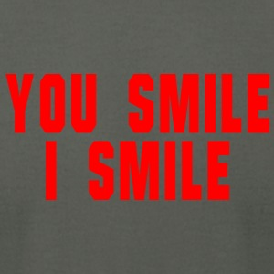 You smile i smile - Men's T-Shirt by American Apparel