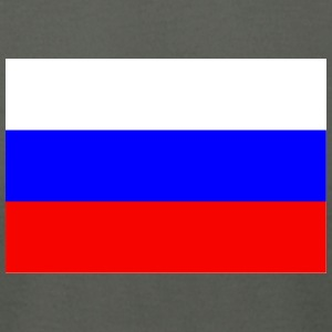 Russia Flag - Men's T-Shirt by American Apparel