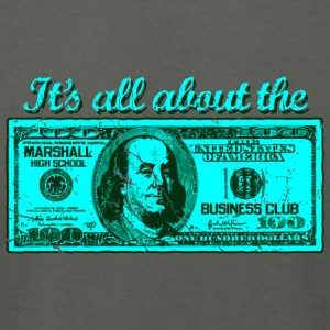 It s All About The Marshall High School Business C - Men's T-Shirt by American Apparel