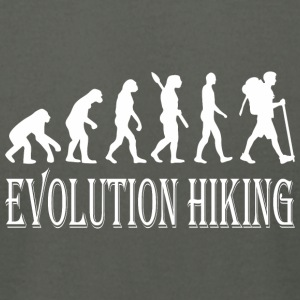 Evolution Hike Hiking - Men's T-Shirt by American Apparel