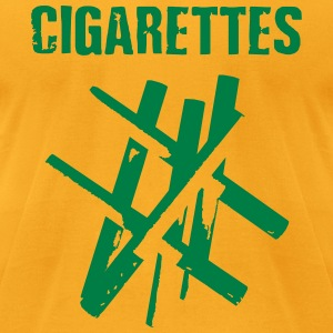 CIGARETTES - Men's T-Shirt by American Apparel