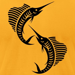 Sailfishes - Men's T-Shirt by American Apparel