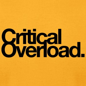 Critical Overload Merchandise - Men's T-Shirt by American Apparel
