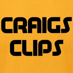 craigs clips - Men's T-Shirt by American Apparel