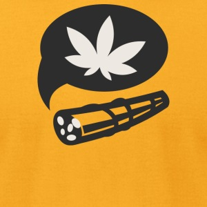 Cannabis - Men's T-Shirt by American Apparel