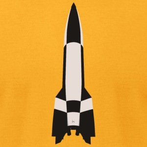 V2 Missile - Men's T-Shirt by American Apparel