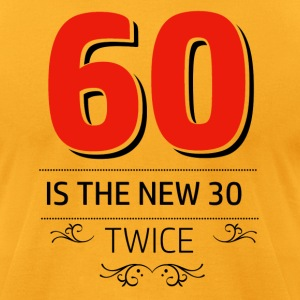 60 years and increasing in value - Men's T-Shirt by American Apparel