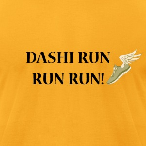 Dashi Run Run Run - Men's T-Shirt by American Apparel