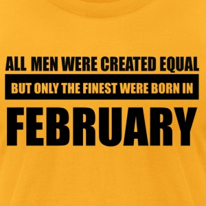 All men were created equal February designs - Men's T-Shirt by American Apparel