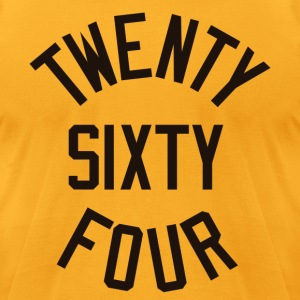 Twenty Sixty Four - Men's T-Shirt by American Apparel