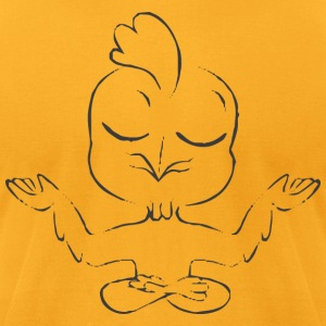 Funny Yoga Cock - Men's T-Shirt by American Apparel