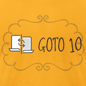 GOTO 10 T Shirt - Men's T-Shirt by American Apparel