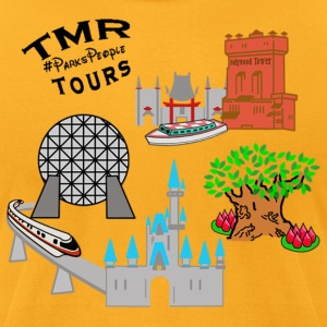 4 Parks TMR Tours - Men's T-Shirt by American Apparel