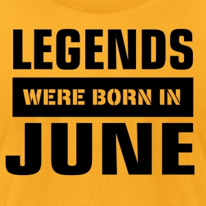 Legends were born in June - Men's T-Shirt by American Apparel