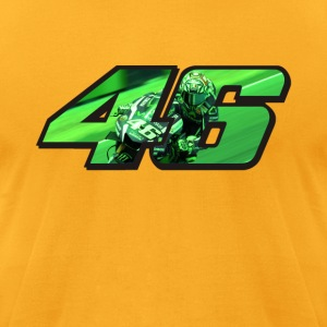 VR46 Logo - Men's T-Shirt by American Apparel