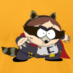 The Coon - South Park - Men's T-Shirt by American Apparel