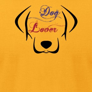 Dog Lover - Men's T-Shirt by American Apparel