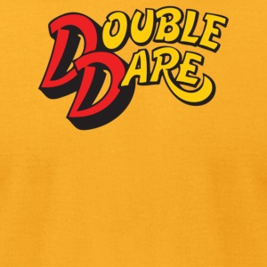 Double Dare - Men's T-Shirt by American Apparel